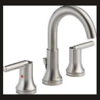 Delta 3559-SSMPU-DST - Delta: Widespread Bath Faucet W/ Metal Pop-Up