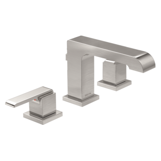 3567-SSMPU-DST Two Handle Widespread Lavatory Faucet