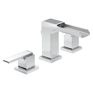 Ara Two Handle Widespread Channel Bathroom Faucet