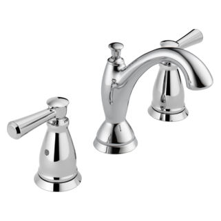 linden traditional two handle widespread lavatory faucet