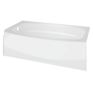 60 x 30 freestanding tub. Classic 400 60  x 30 Curved Bathtub Left Drain Bathtubs and Walls Delta Faucet