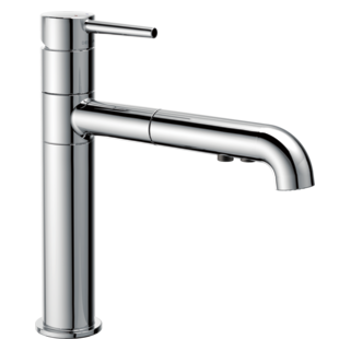 4159-DST Single Handle Pull-Out Kitchen Faucet (Valve and Shower Head Sold Separately)