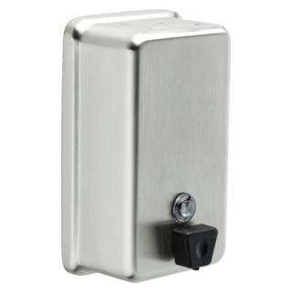 44080-SS Stainless Steel Vertical Liquid Soap Dispenser (Valve and Shower Head Sold Separately)