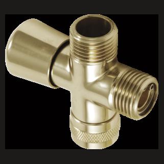 50650-PB 3-Way Shower Arm Diverter for Hand Shower
