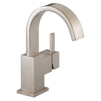 553LF-SS Single Handle Lavatory Faucet (Valve and Shower Head Sold Separately)
