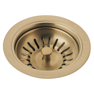 Delta 72010-CZ - Delta: Flange And Strainer - Kitchen Sink, Champagne Bronze
