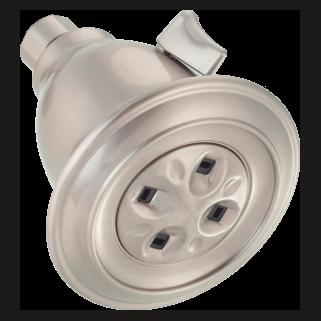 Delta 75158SN - Delta: Traditional Adjustable Water-Amplifying(R)  Shower Head