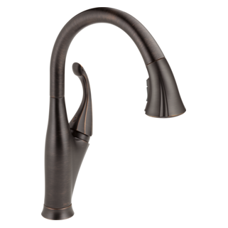 9192-RB-DST Single Handle Water Efficient Pull-Down Kitchen Faucet (Valve and Shower Head Sold Separately)