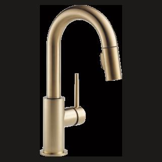 Delta 9959-CZ-DST - Trinsic Pull Down Bar Faucet