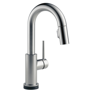 9959T-AR-DST Single Handle Pull-Down Bar / Prep Faucet with Touch2O Technology (Valve and Shower Head Sold Separately)