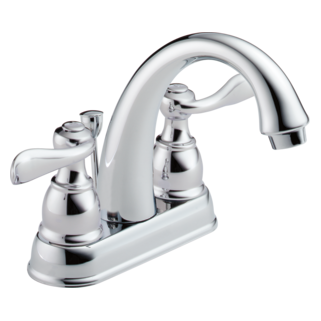 Delta Foundations Windemere: Two Handle Centerset Lavatory Faucet - B2596LF