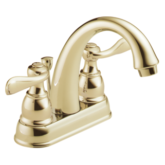 Delta Foundations Windemere: Two Handle Centerset Lavatory Faucet - B2596LF-PB