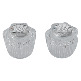 Delta: Two Clear Knob Handle Kit - RP23498