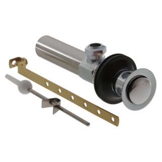Delta: Drain Assembly - Lavatory - Metal - Less Lift Rod And Knob - RP26533