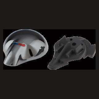 Delta: Single Metal Lever Handle - Temperature Knob And Cover - RP28595