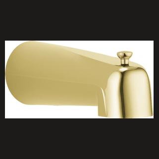 Delta: Tub Spout - Pull-Up Long Diverter - RP36497PB