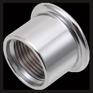 Delta RP51917PN - Delta: Diverter Trim Sleeve, None - Polished Nickel