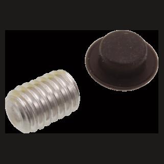 Delta Dryden: Set Screw And Button - Roman Tub Spout - RP54012RB