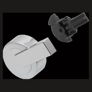 Delta Vero: Single Metal Lever Handle - Temperature Knob And Cover - RP62956