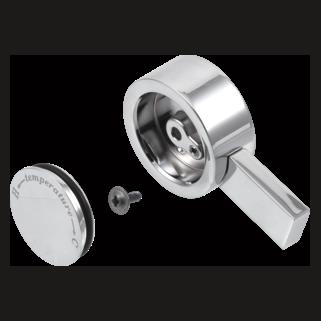 Delta Vero: Single Metal Lever Handle - Temperature Knob And Cover - RP62959