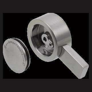 Delta Vero: Single Metal Lever Handle - Temperature Knob And Cover - RP62959SS