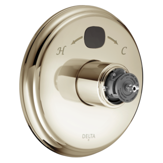 T14000-PNT2O-LHP Traditional 14 Series Temp2O Valve Only - Less Handle (Valve and Shower Head Sold Separately)