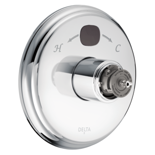 T14000-T2O-LHP Traditional 14 Series Temp2O Valve Only - Less Handle (Valve and Shower Head Sold Separately)