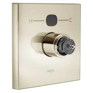 T14001-PNT2O-LHP Angular Modern Temp2O Valve Only - Less Handles (Handles Sold Separately)
