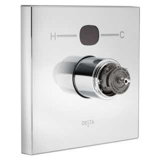 T14001-T2O-LHP Angular Modern Temp2O Valve Only - Less Handles (Handles Sold Separately)