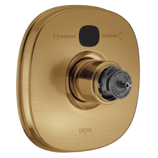 T14003-CZT2O-LHP Transitional 14 Series Temp2O Valve Only - Less Handles (Valve and Shower Head Sold Separately)