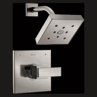 Delta T14267-SS - Ara: 14 Series Shower Trim - Less Showerhead
