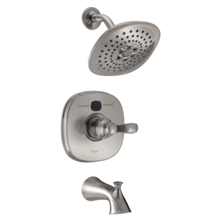 T14403-SST2O Transitional 14 Series Temp2O Tub and Shower Trim (Valve and Shower Head Sold Separately)