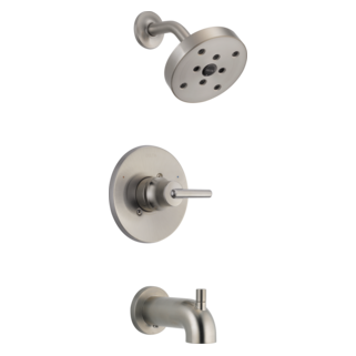 T14459-SS Monitor 14 Series H2Okinetic Tub and Shower Trim (Valve and Shower Head Sold Separately)