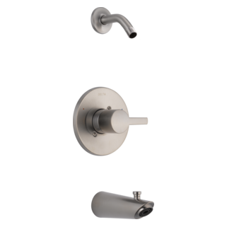 T14461-SSLHD Monitor 14 Series Tub and Shower Trim - Less Head (Valve and Shower Head Sold Separately)