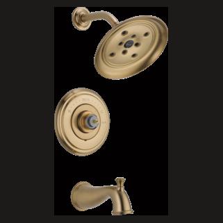 Delta T14497-CZLHP - Delta: Multichoice(R) 14 Series Tub And Shower Trim