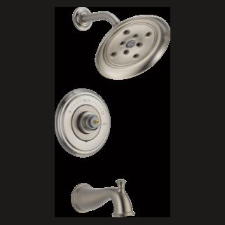 Delta T14497-SSLHP - Delta: Multichoice(R) 14 Series Tub And Shower Trim