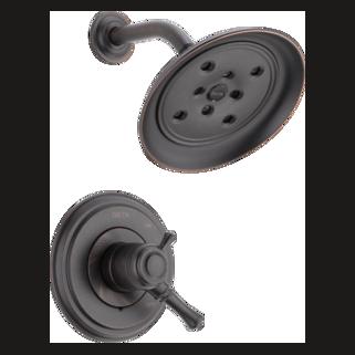 Delta T17297-RB - Delta: Multichoice(R) 17 Series Shower Trim