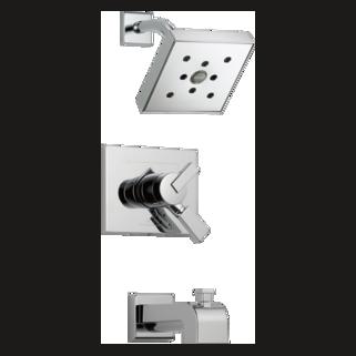 Delta Vero: 17 Series Tub/Shower Trim - T17453-H2O
