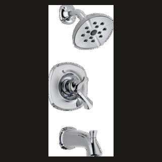 Delta Addison: Monitor 17 Series Tub And Shower Trim - T17492