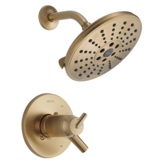 T17T259-CZH2O TempAssure 17T Series H2Okinetic Shower Trim (Valve and Shower Head Sold Separately)