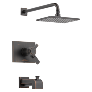 T17T453-RB TempAssure 17T Series Tub and Shower Trim (Valve and Shower Head Sold Separately)
