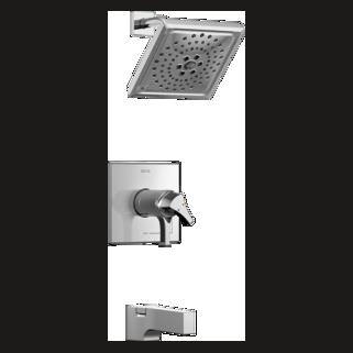 shower faucet. Zura TempAssure 17T Series Tub  Shower Trim Faucets Delta Faucet