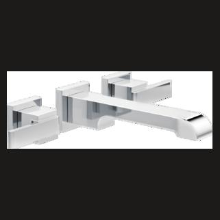 Delta T3567LF-WL - Delta Ara: Two Handle Wall-Mount Lavatory Faucet