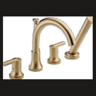 Delta T4759-CZ - Delta: Roman Tub W/ Hand Shower Trim