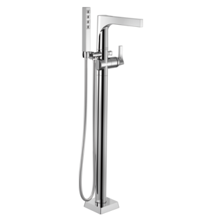 Zura Floor Mount Tub Filler Trim