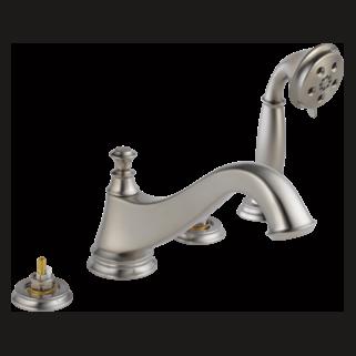 Delta T4795-SSLHP - Delta: Roman Tub W/ Hand Shower Trim - Low Arc Spout