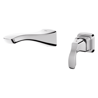Bathroom Fixtures For Less wall mounted bathroom faucets | delta faucet
