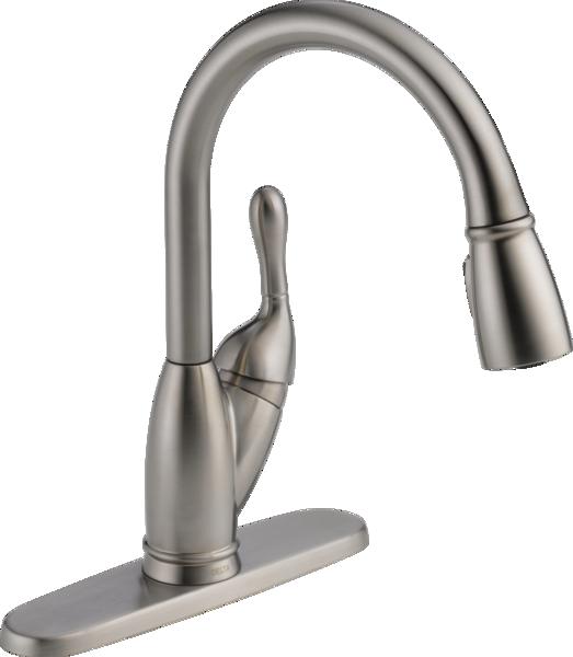 Pull Down Kitchen Faucet 19939 Ss Dst Delta Faucet