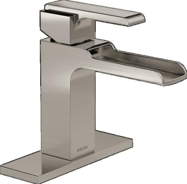 Single Handle Channel Bathroom Faucet 568lf Sslpu Delta