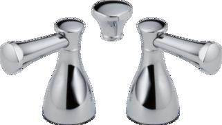 Metal Lever Handle Set 2h Bathroom H240 Delta Faucet